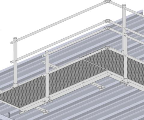 Aluminium Walkway   CE Accredited Fabrications   Safety Fab