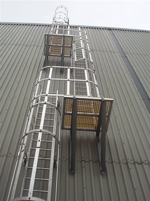 Safety Ladder Installed and Supplied by Safety Fabrications