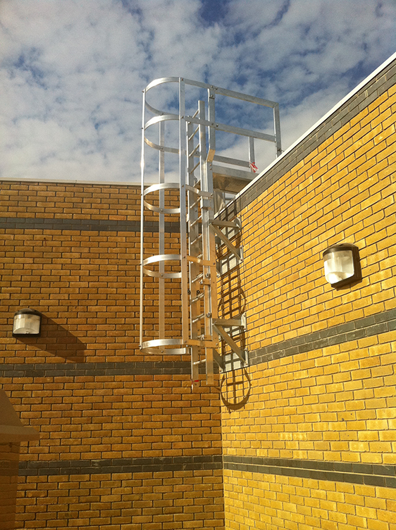Ascent Fixed Access Ladder Safety Ladders Safety