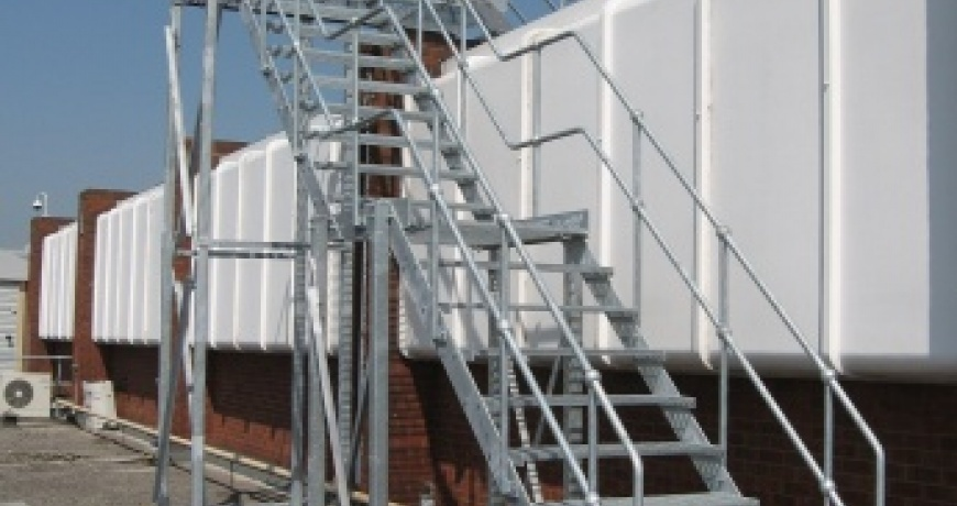 Fixed Access Ladder