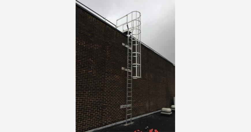 Ascent External Access Ladder